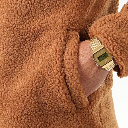 John H - Manteau Fourrure Mouton W010 Camel
