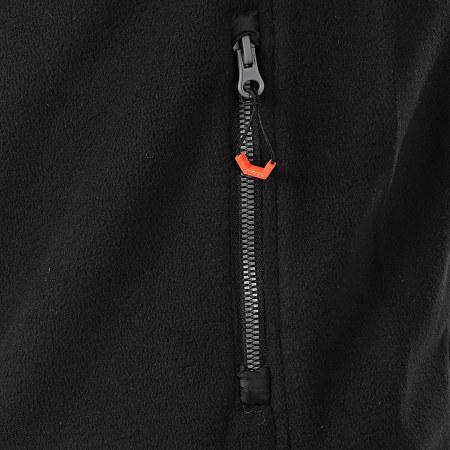 Superdry - Veste Zippée Capuche Polar Fleece Hybrid M2000118A Noir