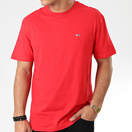 Tommy Jeans - Tee Shirt Tommy Classics 6061 Rouge