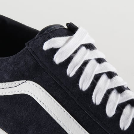 Vans - Baskets Old Skool BV5TPS Pig Suede Parisian Night True White