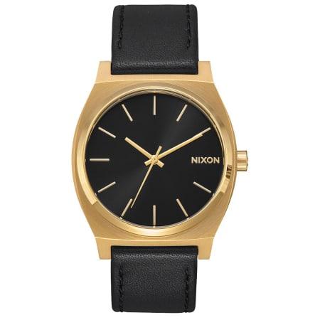 Nixon - Montre Time Teller A045-2639 Gold Black Black