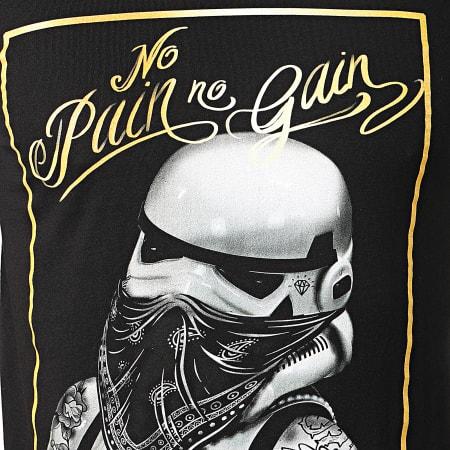 Stormtrooper - Tee Shirt Trooper No Pain No Gain Noir