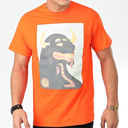 Rilèsundayz - Tee Shirt Orange