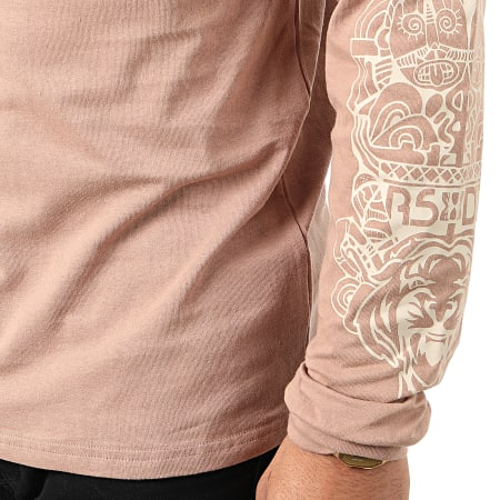 Rilèsundayz - Tee Shirt Manches Longues Maya Beige