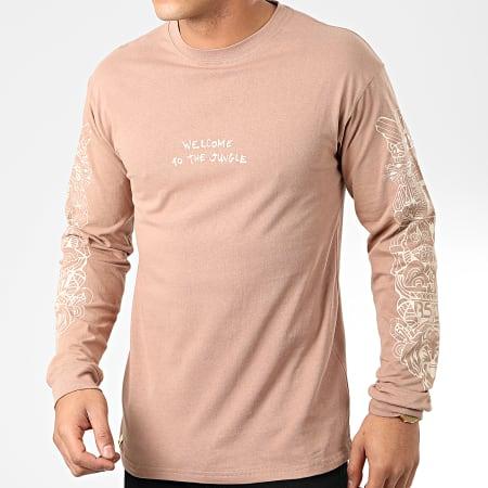 Rilès - Tee Shirt Manches Longues Maya Beige
