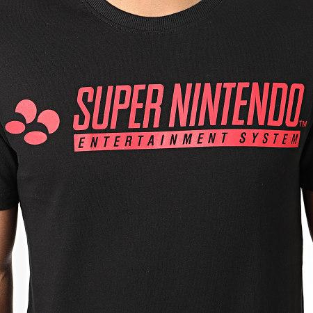 Nintendo - Tee Shirt Oversize Super Nintendo Noir