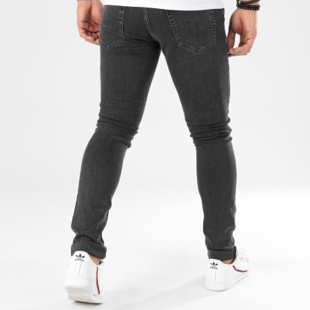 Jack And Jones - Jean Skinny Liam Gris Anthracite