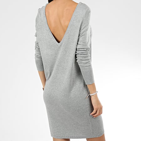 Noisy May - Robe Pull Femme Owen Gris Chiné