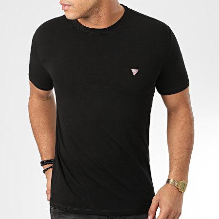 Guess - Tee Shirt Slim M01I24-J1300 Noir
