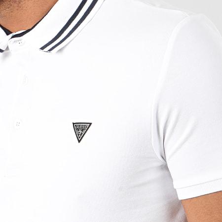 Guess - Polo Manches Courtes M01P45-J1300 Blanc