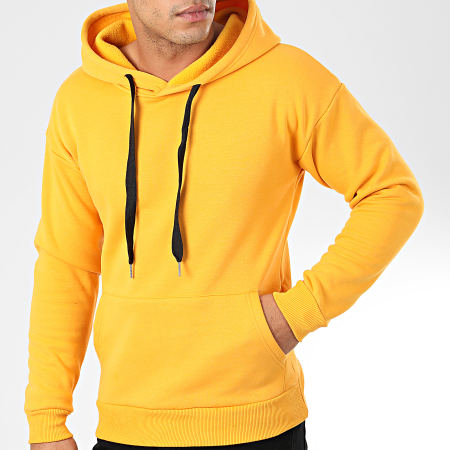 John H Sweat Capuche WY2019001 Jaune Moutarde