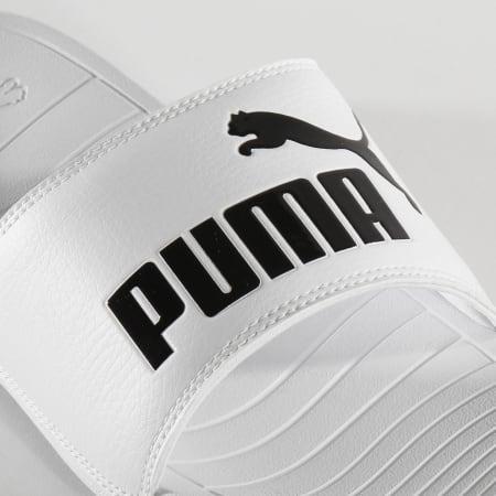 Puma - Claquettes Popcat 20 Puma White Puma Black