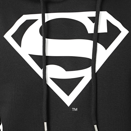 Superman - Sweat Capuche Big Noir