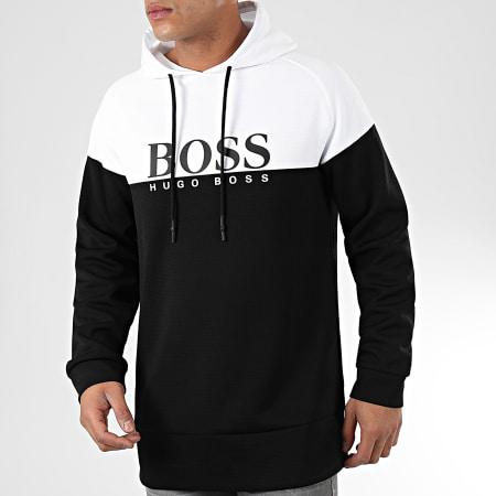 Hugo Boss - Sweat Capuche Fashion 50420370 Noir Blanc