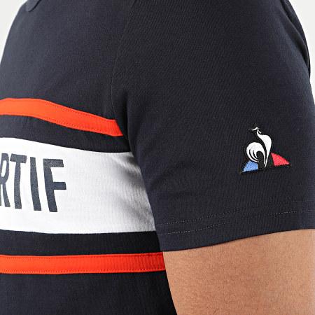 Le Coq Sportif - Tee Shirt Essential Saison N2 2010430 Bleu Marine