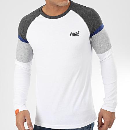 Superdry Tee Shirt Manches Longues OL Desert Baseball