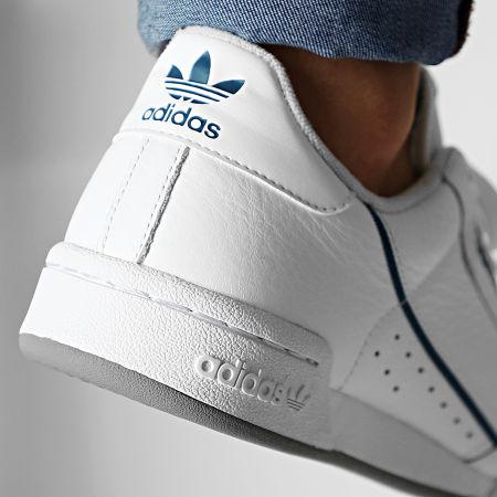 adidas - Baskets Continental 80 EF5988 Footwear White Sky Tint Legend Marine