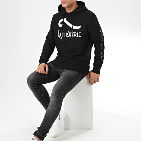 La Piraterie - Sweat Capuche Classic Noir