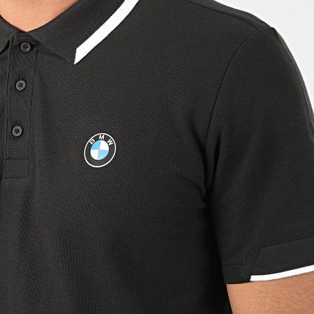 Puma - Polo Manches Courtes BMW Motorsport 596101 Noir