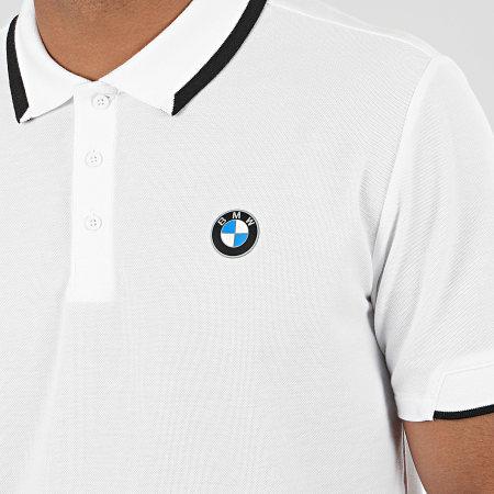 Puma - Polo Manches Courtes BMW Motorsport 596101 Blanc