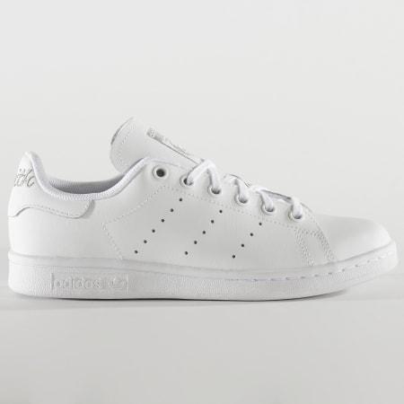 adidas - Baskets Femme Stan Smith EF4913 Footwear White Silver Metallic