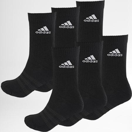 adidas - Lot De 6 Paires De Chaussettes DZ9354 Noir