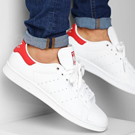 adidas - Baskets Stan Smith EF4334 Cloud White Lush Red