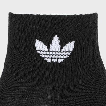 adidas - Lot De 3 Paires De Chaussettes FM0643 Noir