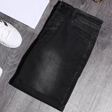 LBO - Short Jean LB054-B63 Noir