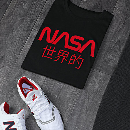 NASA - Tee Shirt Japan Noir Rouge