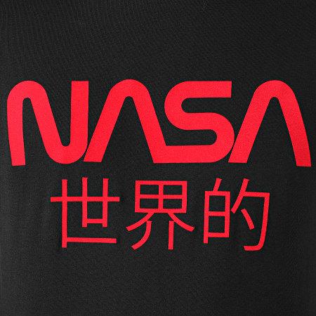 NASA - Tee Shirt Worldwide Noir Rouge