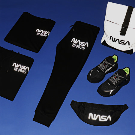 NASA - Tee Shirt Mini Japan Reflective Noir