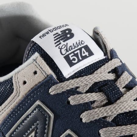 New Balance - Baskets Classics 574 633531 Navy