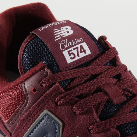 New Balance - Baskets Classics 574 774801 Red Navy