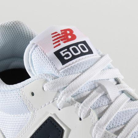 New Balance - Baskets Lifestyle 500 697771 White