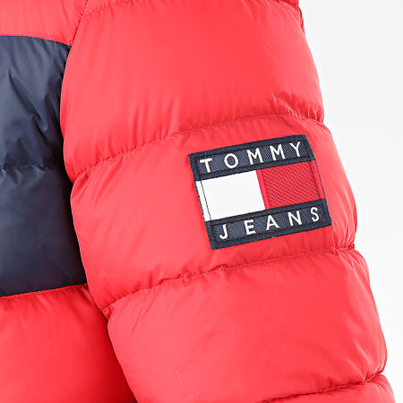 Tommy Jeans - Doudoune Essential Down 7364 Rouge