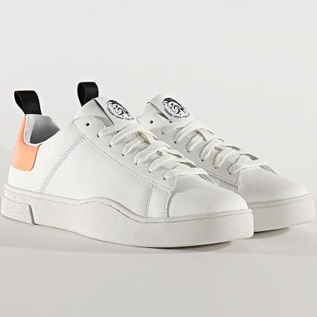 Diesel - Baskets S-Clever Low Lae Y02045-P0299 White Orange Peach