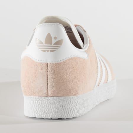 adidas - Baskets Femme Gazelle BB5472 Vapor Pink White Gold Metallic