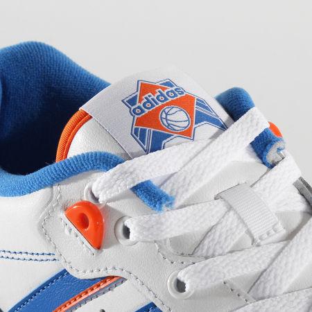 adidas - Baskets Rivalry Low FU6833 Cloud White Blue Orange