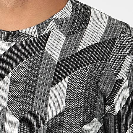 Frilivin - Tee Shirt Manches Longues Oversize 5372 Gris