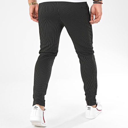 Frilivin - Pantalon A Rayures Avec Bandes 1670 Noir