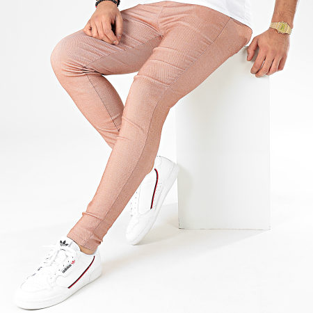 Frilivin - Pantalon Chino 1676 Marron Clair