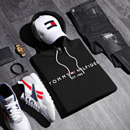 Tommy Hilfiger - Sweat Capuche Core Tommy Logo 0752 Noir