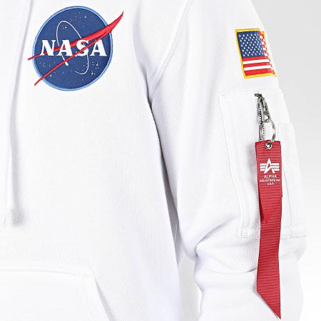 Alpha Industries - Sweat Capuche Space Shuttle 178317 Blanc