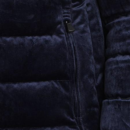 Classic Series - Doudoune Velours 99318 Bleu Marine