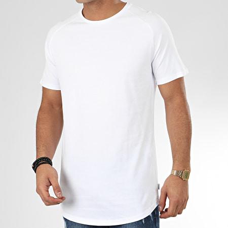Jack And Jones - Tee Shirt Oversize Curved Blanc