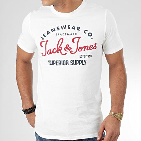 Jack And Jones - Tee Shirt Logo Ecru
