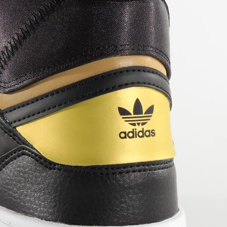 adidas - Baskets Drop Step EF7144 Core Black Gold Metallic Cloud White