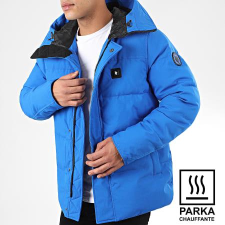 Comme des Loups - Parka Chauffante Osaka Bleu Electrique
