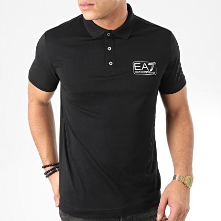 EA7 - Polo Manches Courtes 8NPF12-PJNQZ Noir